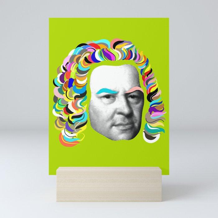 Bach Collage Mini Art Print