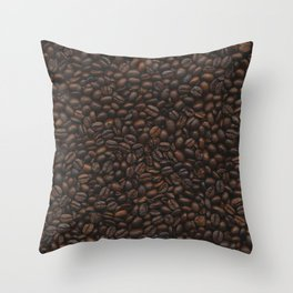 Coffee Addiction. Throw Pillow