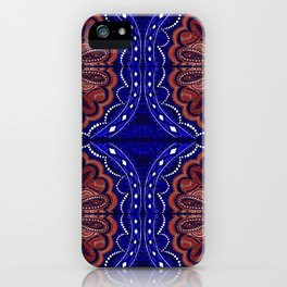 Patriotic Bandanna iPhone Case