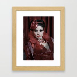 The fifth deadly sin Framed Art Print