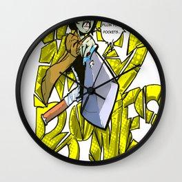Spooks  Wall Clock
