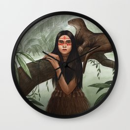 Rimaq ~ A Compendium of Witches Wall Clock