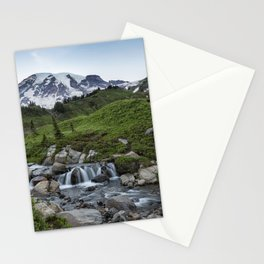 Edith Creek and Mount Rainier Stationery Cards