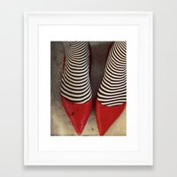 dorothy Framed Art Prints featuring Dorothy by elle moss