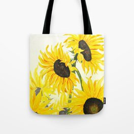sunflower watercolor 2017 Tote Bag