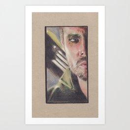 The Hood Art Print