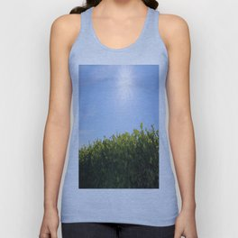 Summer Photos, Nature Photography, fine art gifts, Landscape Photo, sunshine photo Unisex Tank Top