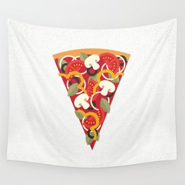 PIZZA POWER - VEGO VERSION Wall Tapestry