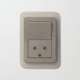 Smiling Power Outlet Bath Mat