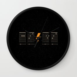 ACDC Back in Black Wall Clock