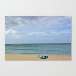 Relax & Stay Awhile Canvas Print