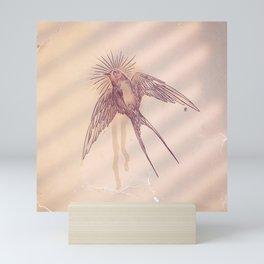 little swallow Mini Art Print