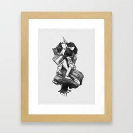 My Humble Throne Framed Art Print