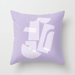 Shape study #31 - Inside Out Collection Throw Pillow