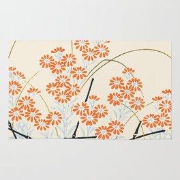 Ornamental Chrysanthemum, Daisy Flowers Rug