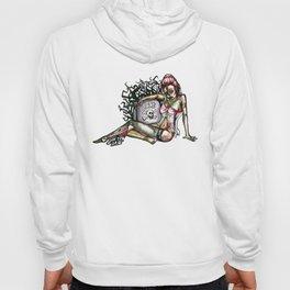 Pin up Grrl Zombie Hoody