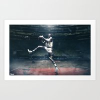Willis Reed - Guardians of the Garden 3/5 Art Print