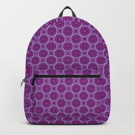 Circles in Purple Backpack