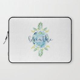 Breathe - Watercolor Laptop Sleeve