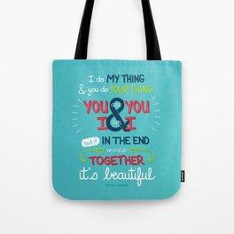 It's Beautiful Tote Bag