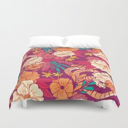 Jungle Pattern 002 Duvet Cover