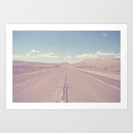 West Texas Wild x Open Roads Art Print