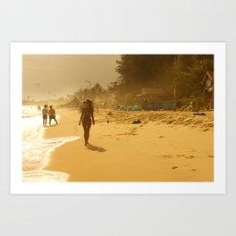 Mui ne beach Art Print