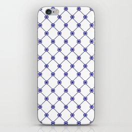 Folk pattern II iPhone Skin