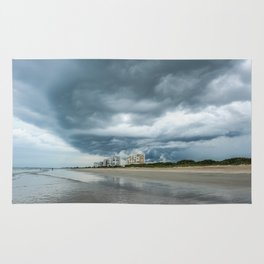 Ominous Storm Lurking  Rug