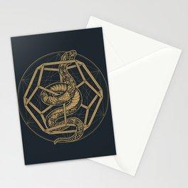 SACRED SERPENT Stationery Cards