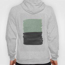 Sage Green Black Abstract Minimalism #1 #minimal #ink #decor #art #society6 Hoody
