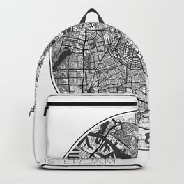 Amsterdam Map Universe Backpack