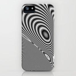 Fractal Op Art 1 iPhone Case