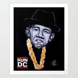 Run DC Art Print