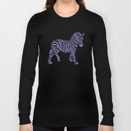 Zebra Pattern Long Sleeve T-shirt