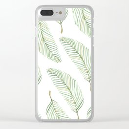 Summer of Palms Clear iPhone Case