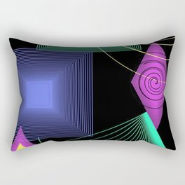 Geometric Design Rectangular Pillow