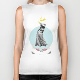 Arabic Birth Biker Tank