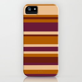 90's Stripes iPhone Case