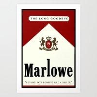 Marlowe Reds Art Print