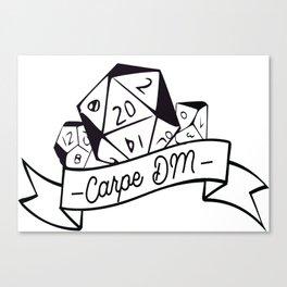 Carpe DM Canvas Print