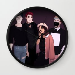 airport fashion phan&melix Wall Clock