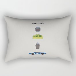MST3K Riding with Death Rectangular Pillow
