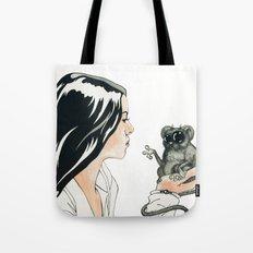 Portrait, Mind Blown Tote Bag