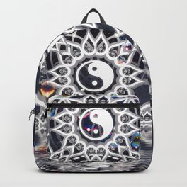 Yin Yang Symmetry Balance Reflection Backpack