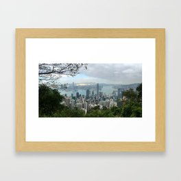Hong Kong 香港 Framed Art Print