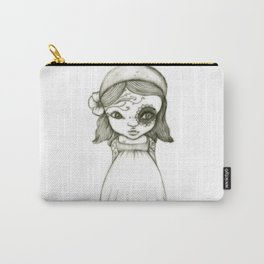Tattooed Girl Carry-All Pouch