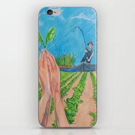 Pezmacultura iPhone Skin