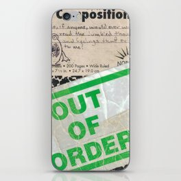 Out of Order iPhone Skin