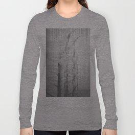 Bunny Girl Glitch Long Sleeve T-shirt
